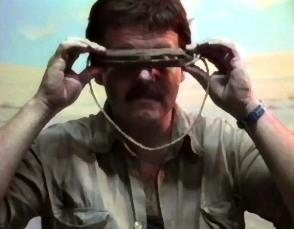anteojos de madera