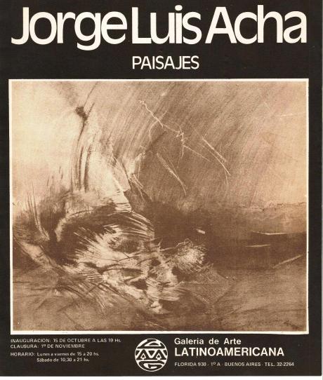 Paisajes - J.L. Acha Frente